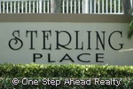 sign for Sterling Place of Pembroke Shores