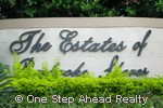 sign for Estates of Pembroke Shores