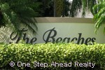 sign for Beaches, The of Pembroke Shores