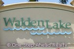 Walden Lake community sign