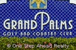 Grand Palms community sign